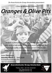 Oranges & Olives Flyer